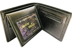 Kash Genuine Leather Wallet Coin Pouch Black (Code - GLBLCOIN)