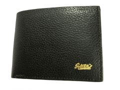 GF Original Leather Wallet with Coin Pouch Black (Code - OLBL01)