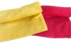 Krish 100% Cotton Bath Towel 450 GSM Red   475 GSM Orange ( Code - TWRED ORANGE)