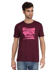 KcjZoom Purple menz tshirt - (code - 4001)