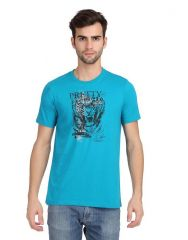 KcjZoom Tblue menz tshirt - (code - 4001)