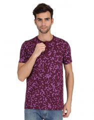 KcjZoom Purple menz tshirt - (code - 4002)