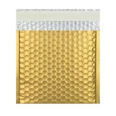 ABF Global  Metallic Foil Bubble Mailer, 9 inches x 7 inches, Gold