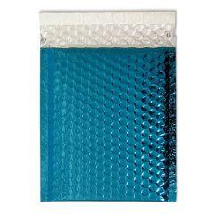 ABF Global Metallic Foil Bubble Mailer, 10 inches x 8 inches, Blue