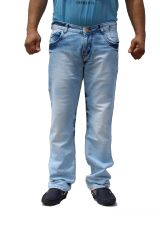 TDFPatloon Men Skinny Fit Sky Blue Casual Jeans (CODE - PL111)