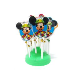 MICKEY MOUSE lollipop Tom Joy Candy (50 Packs in 1 Box)