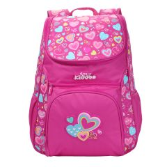 "Smily Kiddos | Smily ""u"" Shape  Backpack (Pink)"