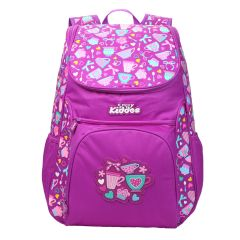 "Smily Kiddos | Smily ""u"" Shape  Backpack (Purple)"