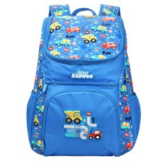 "Smily Kiddos | Smily ""u"" Shape  Backpack (Blue)"