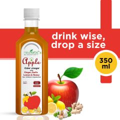 Neuherbs Apple Cider Vinegar (Ginger, Garlic, Lemon & Honey) - 350 ml