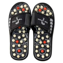Spring Acupressure Magnetic Therapy Sandals | Yoga Paduka Foot Relaxer for Men and Woman