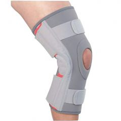 Kudize Functional Knee Support Joint Protection Open Patella Hinge Brace (code - Gr16)