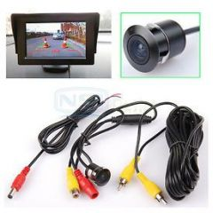 "Shop or Gift 4.3"" LED TFT Monitor With Night Vision Reverse Parking Camera Online."