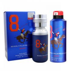 Beverly Hills Polo Club No.8 Edt - 50 Ml - (code - 100pc850w)
