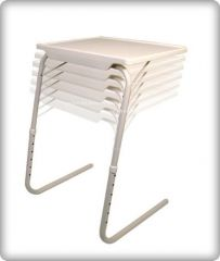 Shop or Gift Table - Portable Adjustable Dinner Cum Laptop Tray Online.