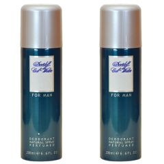 Shop or Gift Set Of 2 Davidoff Cool Water Deodorant 200ml Online.