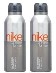 Deodorants (Men's) - Set Of 2 Nike Limited Edition Up Or Down Deodorant 200 Ml