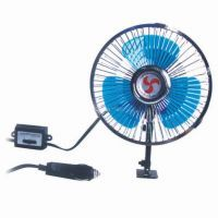 Winner 6 Inch Oscillating Automotive 12 Volt Dc Fan For Car Vehicle Bus Truck