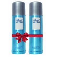 Davidoff Cool Water Deodorant For Women Buy 1 Get 1 Free - 200 Ml Each