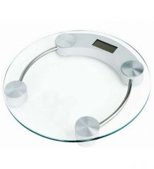 White Cherry Weighing Scale Round