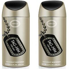 Set Of 2  Armaf Tag Him Deodorant Spray - For Men (200 Ml)