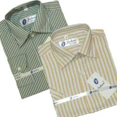 Shop or Gift Set of Formal Full And Half Sleeves Stripe Shirts Online.