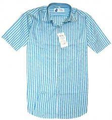 Shop or Gift Formal Half Sleeves Stripe Shirt Online.
