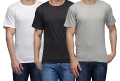 Hi Lifestyles Combo of 3 Polo Neck T Shirts