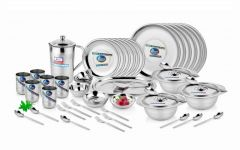 Premium Quality Stainless Steel 56 PCs Dinner Set