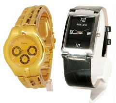 Buy 1 Get 1 Free Men's Stylish Watches ..STWC9