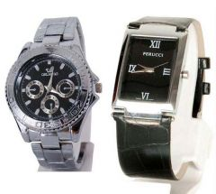 Buy 1 Get 1 Free..Men's Stylish Watches ..STWC37