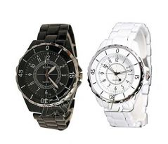 Hi Lifestyles Valentine Exclusive Very Stylish Couple Watch Set For You And Your Beloved - Valentine Gifts For Him