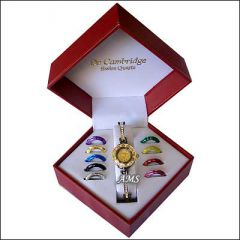 Hi Lifestyles Valentine Exclusive Watch Set With 10 Changeable Dials & Straps - Valentine Gifts For Her