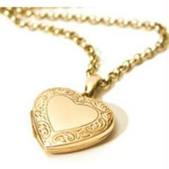 Shop or Gift Exclusive Heart Photo Pendant Online.