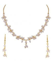 Mother's Day Gifts   Necklaces & Sets - Classy Elegant Wear Pure Pearl Set for your Dear Mother