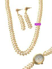 Pearl Jewellery - Exclusive Fresh Water Pearl Set .....LS9