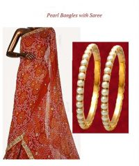 Exclusive Bangles With Saree