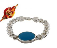 Rakhi Gifts....Lucky Salman Khan Style Turquoise Bracelet for your Brother