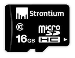 Strontium Mobile Phones, Tablets - Strontium Micro sd Memory Card 16GB