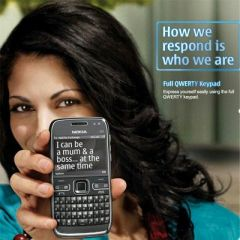 Shop or Gift New Nokia E72 mobile phone Online.