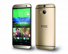 Shop or Gift HTC M8 - Gold Mobile Online.