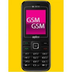New Spice M3636 Dual SIM Mobile Phone