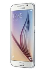 Samsung - Samsung Galaxy S6 Mobile - White With Manufacturer Warranty