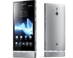 Sony - Sony Xperia U mobile phone