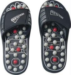 Shop or Gift Original Spring Action Acupressure Massage Slippers Leg Foot Massager Online.