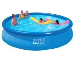 Inflatable Toys - 15 Feet Intex Easy Set Family Swimming Pool Inflatable Kids Above Ground