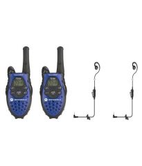 Motorola Electronics - MOTOROLA T-5720, 5 MILES  WALKIE TALKIE PAIR  PTT (HANDSFREE  VERSION)