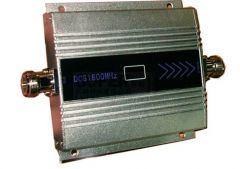 Mobile Accessories (Misc) - GSM 1800 MHz MOBILE SIGNAL BOOSTER WITH LCD PANEL 55 dBI GAIN
