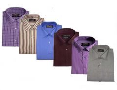 Pack Of 6 Formal Shirts