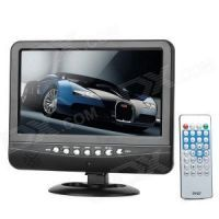 "Eci 7.5"" Mini TFT LCD Screen Portable Color TV Car Shop USB SD MP3 MP4 Play"